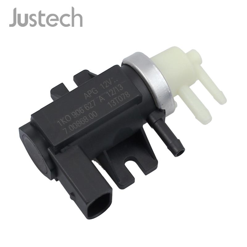 Justech Turbo Solenoid Control Valve For Audi Seat Skoda VW T5 Transporter 1.9 2.0 & 2.5 TDI 1K0906627A 70086800