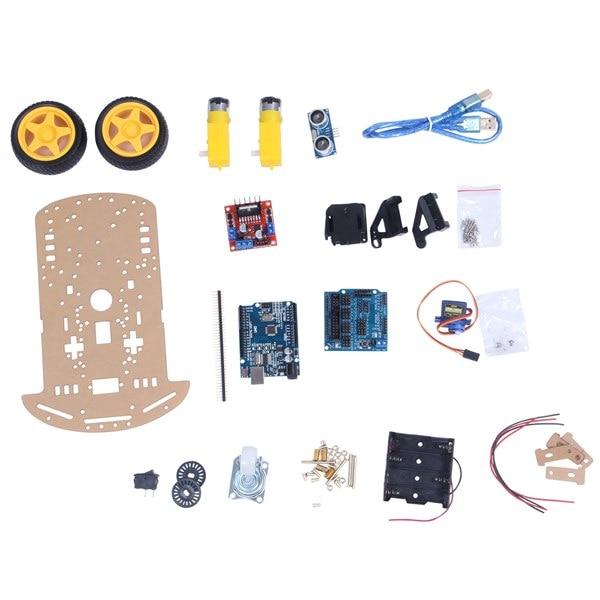 Smart Robot Car Kit Include Uno R3,Ultrasonic Sens