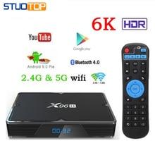 X96 H mini Smart Tv Box Android 9.0 IPTV Set Top Box 6K 2gb 4gb 16gb 32gb 64gb Quad Core media player PK HK1 MAX H96 A95X in stock original pipo x9 2gb 32gb quad core mini pc smart tv box dual os windows 10
