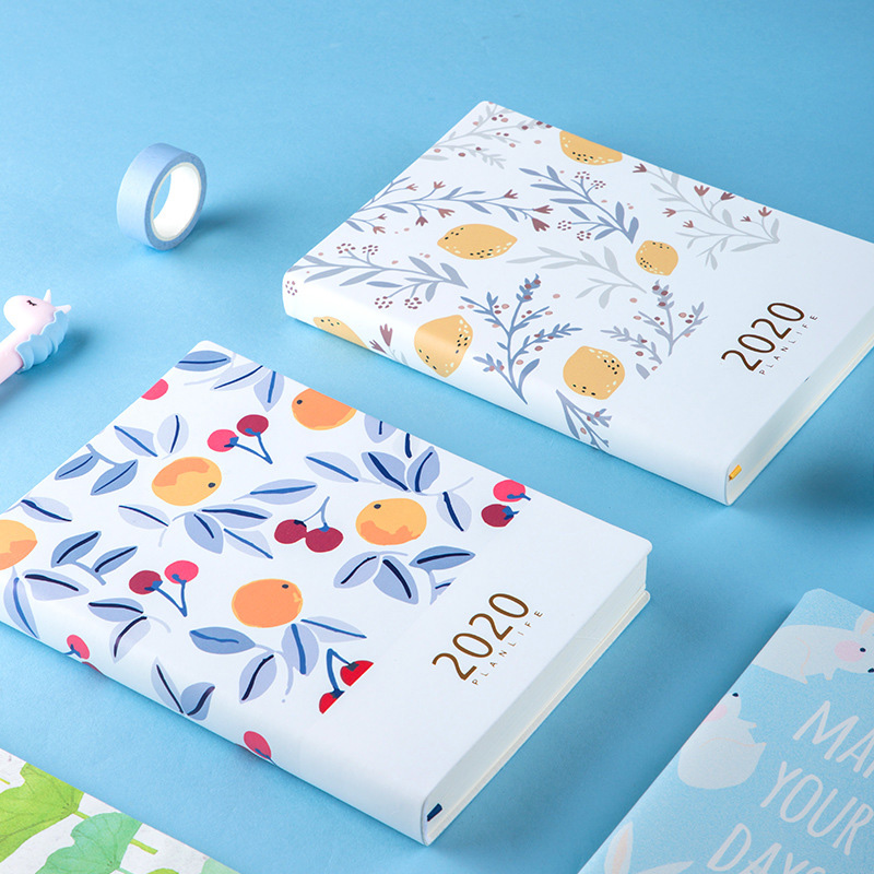 Cute Agenda 2020 Planner Organizer Kawaii A5 Diary Notebook And Journal Weekly Month Note Book Wonderful School Travel Handbook