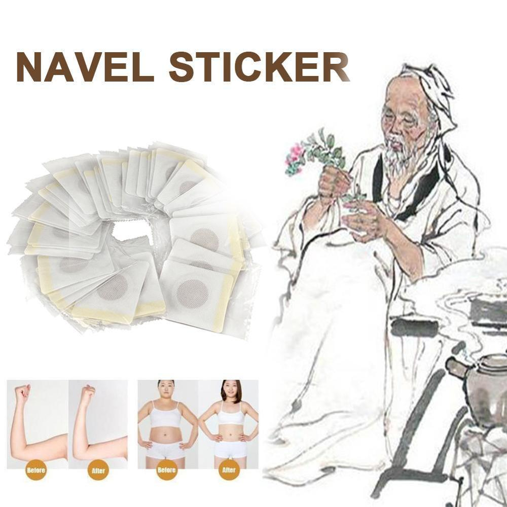 40pcs/set Navel Sticker Slimming Patch Stomach Cellulite Fat Burner Waist Belly Weight Lossing Paste Navel Sticker Diet Product