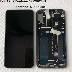 "Image 5 - Original For 6.2"" Asus Zenfone 5 2018 Gamme ZE620KL LCD Display Screen+Touch Panel Digitizer For Zenfone 5Z ZS620KL X00QD +Frame"
