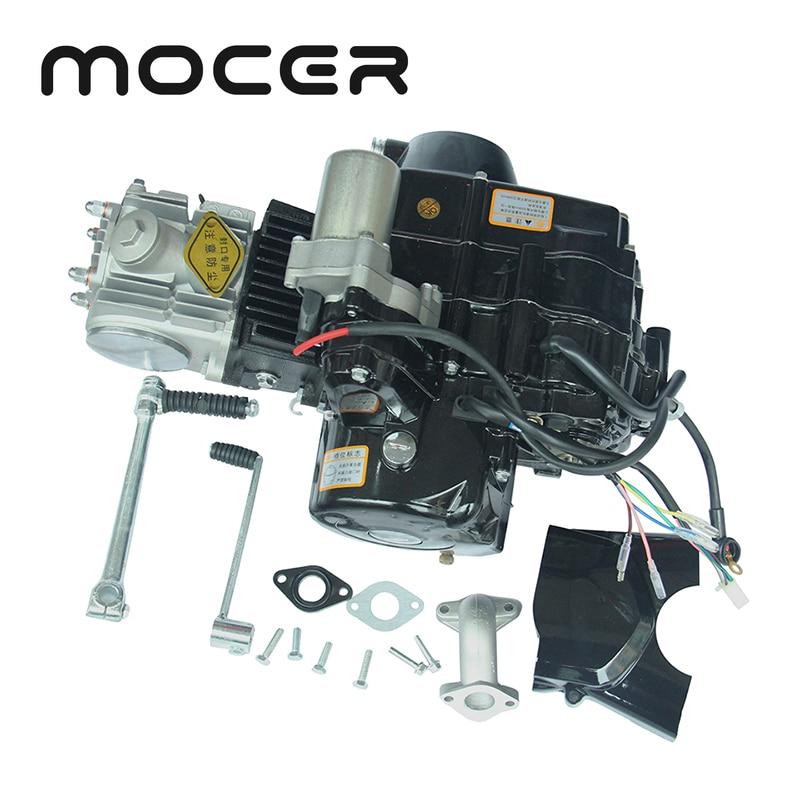 Mini Dirt Bike 110cc Elektrische Fuß Start-Motor Hohe Leistung Aluminium Motorrad Motor Motoren Für FDJ-006