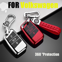 ZOBIG Soft TPU Protection Remote Key Cover Case For Skoda Superb A7 Volkwagen Passat B8 VW Golf Car Styling