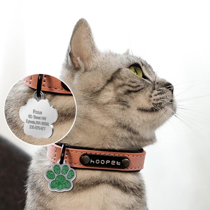 Médaille à graver pour chat