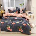 Комплект постельного белья  принт фламинго  пододеяльник  King active  США  AU  европейский размер  комплект постельного белья для взрослых и детей