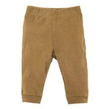 Плотные хлопковые штаны для новорожденных мальчиков от 0 до