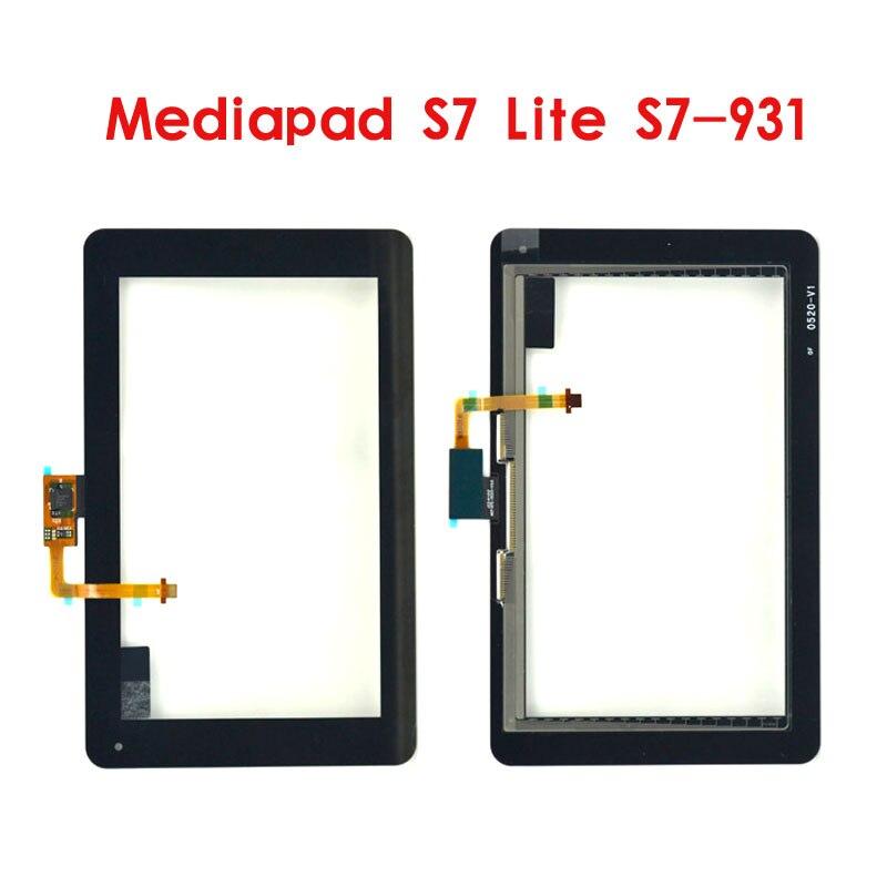 7 Polegada para huawei mediapad s7 lite S7-931 S7-931U S7-931W digitador da tela de toque painel lcd substituição tablet pc
