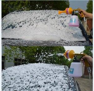 Image 5 - Schaum Pistole Auto Schaum Waschen Reinigung Gun Schnee Foam Lance Air Kompressor Espuma Werkzeug für Tornado Schaum Generator Auto Detaillierung werkzeug