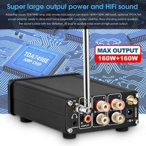 Image 5 - Nobsound HiFi Bluetooth 5.0 דיגיטלי מגבר סטריאו מקלט שולחן העבודה אוזניות Amp SD / USB מוסיקה נגן FM רדיו