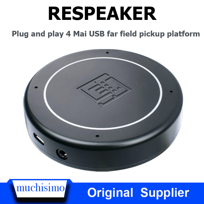 Raspberry Pi 4B ReSpeaker USB Mic Array Far Field Microphone AI Speech Recognition Development Board Raspberry Pi 4B