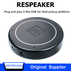 Raspberry Pi 4B ReSpeaker USB Mic Array micrófono de campo lejano AI Tarjeta de desarrollo de reconocimiento de voz Raspberry Pi 4B
