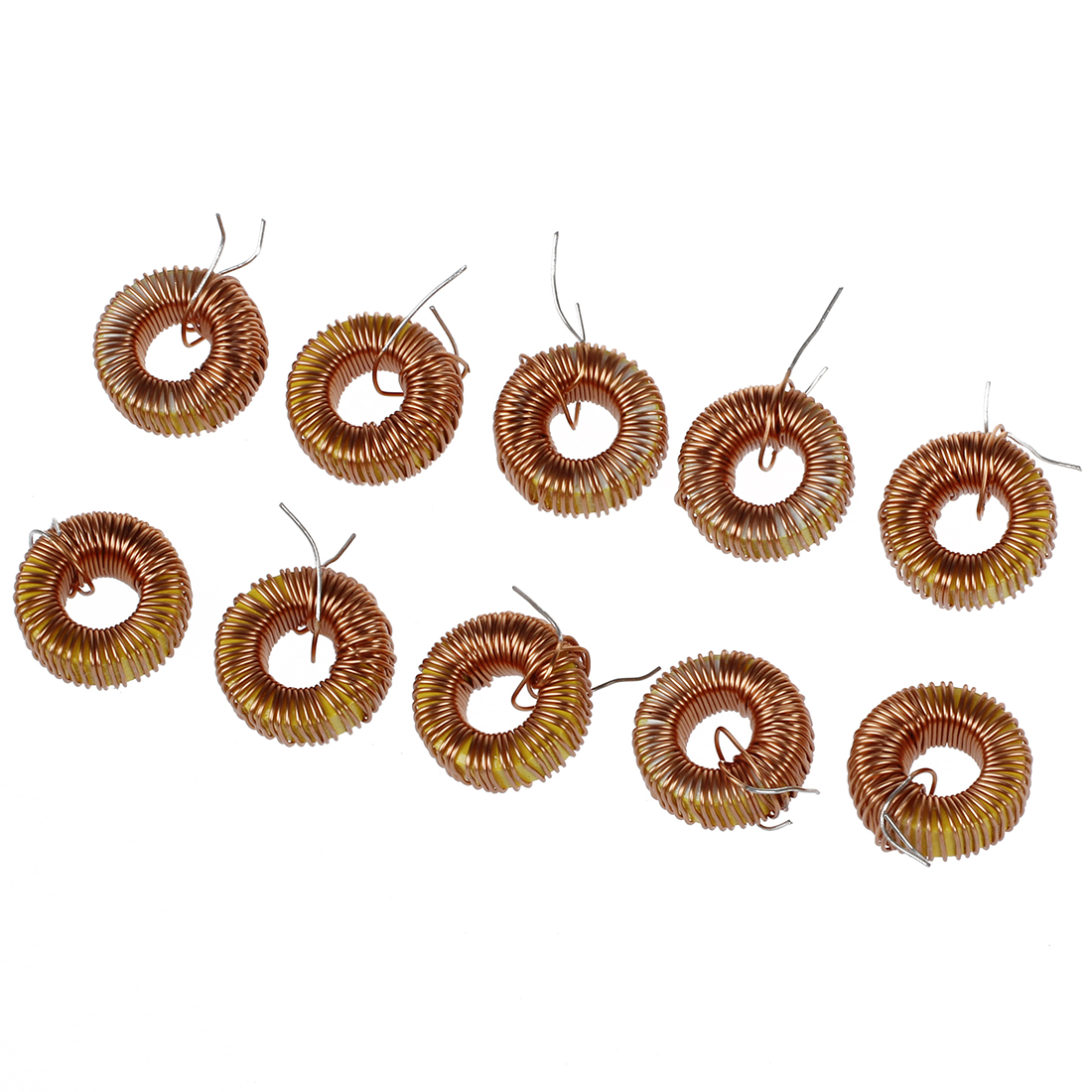 5pcs/lot Toroid <font><b>Inductor</b></font> 3A Winding Magnetic Inductance 3A 22uH 33uH 47uH 56UH <font><b>100uH</b></font> 220uH 330uH 470uH <font><b>Inductors</b></font> For LM2596 image