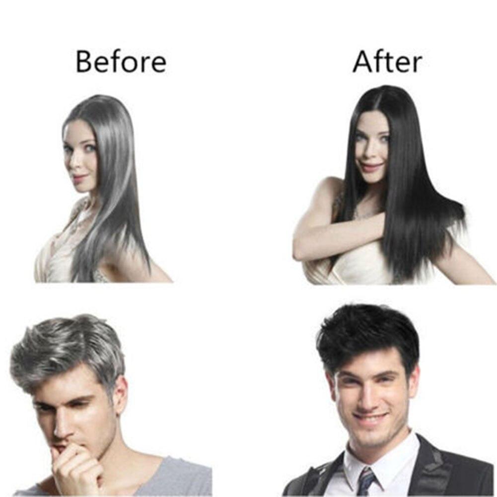 Salon Shampoo Unissex Planta Tintura de Cabelo