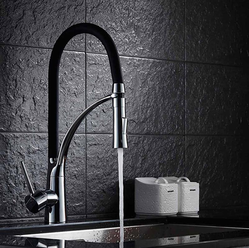 H39bfaee8a5ba499e892c5f8a25eef9ffn 1PC 360°rotating Flexible Faucet High-quality Bathroom Kitchen Faucet Extender Mixer Tap Bath Sink Faucet Shower Head Spray HWC