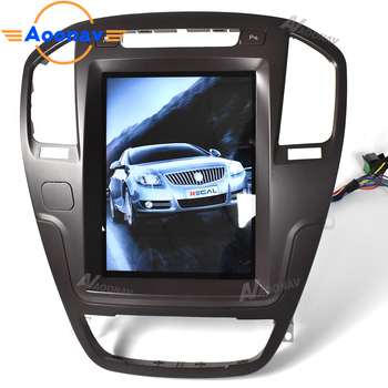 2 Din Android HD touch screen GPS navigation Car audio Player FOR-Buick Regal 2009-2013 vertical screen autoradio radio stereo image