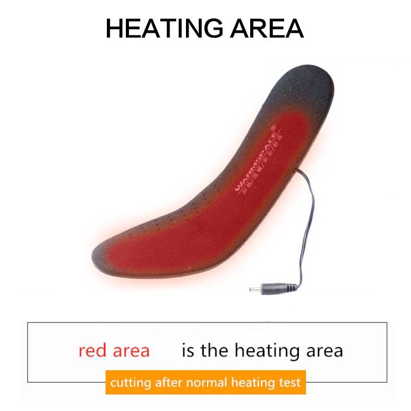 recarregáveis palmilhas de aquecimento do pé palmilhas
