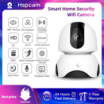 Kamera WIFI 1080P bezpieczeństwo w domu kamery IP MINI kamera PTZCAMERA nadzoru kamery WIFI noktowizor CCTV kamery 2MP niania elektroniczna BABY MONITOR tanie i dobre opinie Hspcam Kamera ip Windows 7 Windows 8 Windows 10 1080 p (full hd) 3 6mm Mini kamery Ip sieci bezprzewodowej CN (pochodzenie)