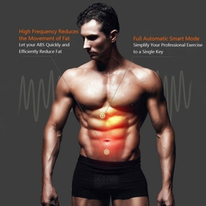 Image 2 - Electric Muscle Training Slimming Fat Burning Exercise Gym Smart Fitness Muscle Stimulator Abdominal Tool Muscle Stimulator