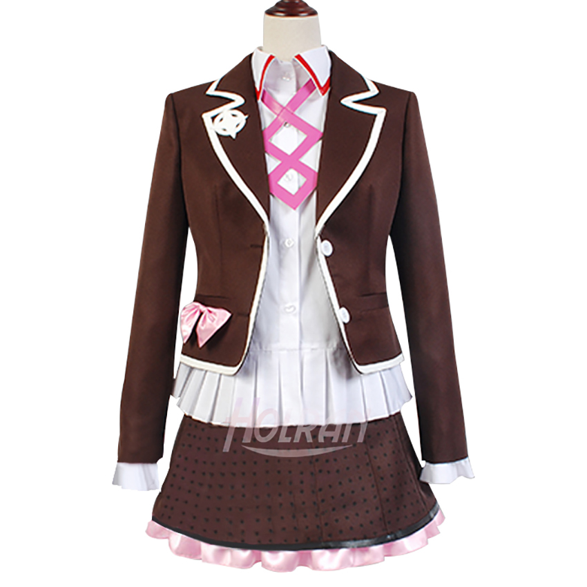 Danganronpa Another Episode Cosplay Costume Cos Utsugi Kotoko School Uniform Preppy Style JK Uniform Anime Cosplay