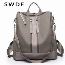 SWDF Fashion Women Backpack Bags For Women Zipper Women's Bags School Bag For Girls Large Capacity Female Lady Travel Bag Sac