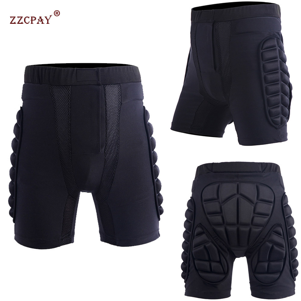 Children Adult Outdoor Sports Veneer Ski Protector Skate Protection Hip Shorts Protective Equipment Paintball Rib Protector