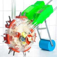 Ручная нажимная машина нового колеса прокатки кукурузы арахисовая соя сеялка многофункциональный по требованию тонкой Удобрения Плантатор