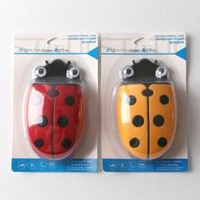 Brand New Cute Ladybug Fridge Magnetic Storage Box Eraser Whiteboard Pen Organizer Save Space Kitchen Container Holder