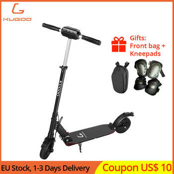 KUGOO S1 PRO Folding Electric Scooter 8 Inch Solid Honeycomb Explosion-proof Tire 350W Motor LCD Display Screen with Carry Bag - DISCOUNT ITEM  28% OFF All Category