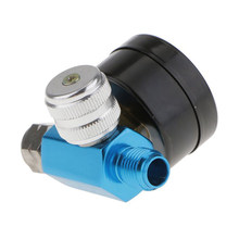 1/4Inch Spray Paint Gun Air Pressure Regulator Pressure Gauge Digital Compressor(China)
