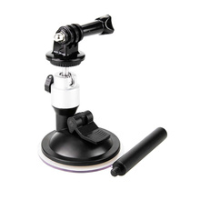 For-Dji Osmo Action Car Glass Sucker Adapter Suction Cup Mount Holder Fix Bracket Desktop Stand Camera Accesso