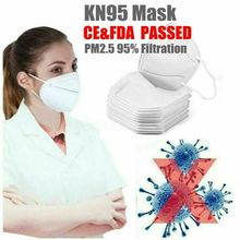 1pcs KN95 Face Mask Anti Pollution Bacterial N95 Mask 4-Layer PM2.5 Dustproof Protective 95% Filtration KN95 Mouth Muffle Cover