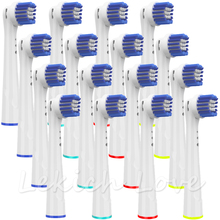 16Pcs Replacement Toothbrush Heads for Oral B Electric Toothbrush Full Replacement for Round Oral B Toothbrush Heads