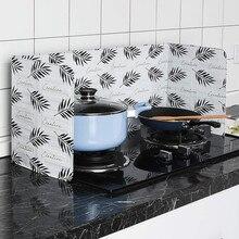 Настенное масло брызговик газовая плита из алюминиевой фольги в скандинавском стиле масляная перегородка кухня брызгозащищенная смазка изоляционная доска кухонная утварь 5