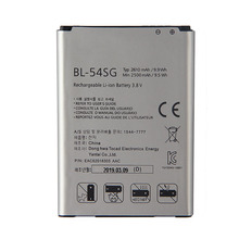 цена на Original BL-54SG  Battery for LG G2 F320 F340L H522Y 2610mAh F260 D728 D729 H778 H779 D722 lg90 D410 2610mAh
