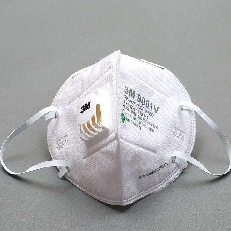 10pcs 3M Mask 9001V Respirator Mask Masque マスク Ffp3 Mask Mascaras Faciais Gripe Mascarilla Ffp2 Mouth Mask Reusable Mondmasker
