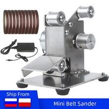DIY Polishing Grinding Machine Cutter Edges Sharpener Multifunctional Grinder Mini Electric Belt Sander 110V/220V New Style