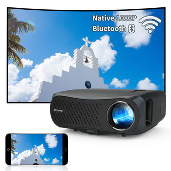 A12AB Projector 4K Beamer Home Theater Led Video New 7200 Lumens Wireless Airplay Full Hd 1080P Projector For Mobile Phone 1