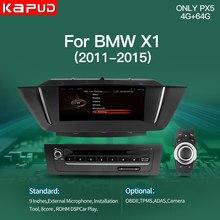 Gps-навигатор Kapud для Bmw X1 E84, Android, мультимедийный экран Carplay 2015-2012, автомобильный DVD-радиоплеер, Idrive, Авторадио, Usb, ОЗУ