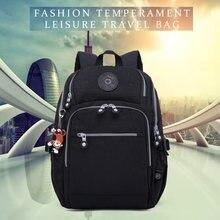 Качественный женский рюкзак нейлоновые рюкзаки для девочек в