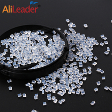 Alileader Bulk Italian Keratin Glue Beads  For Hair Extensions 20/50/100G 100%Italian Italian Keratin Glue Granules Strong Hold