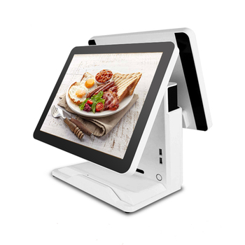 PC Computer pos hardware pos terminal factory price pos system high quality dual screen cash register
