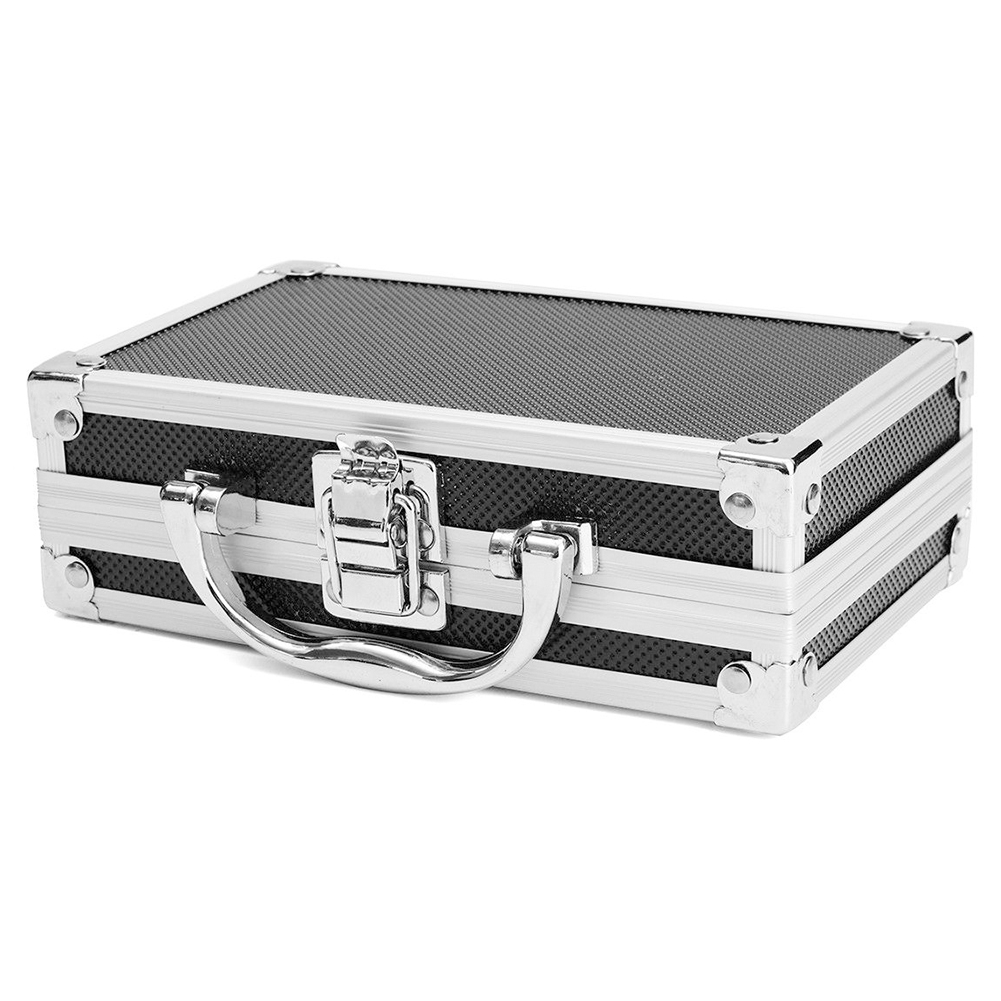 Travel Sponge Inside Tool Box Storage Magic Props Carry Case Hard Carry Lightweight Portable Aluminum Alloy Sturdy Organiser