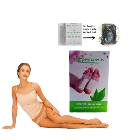 Chinese Medicine Anti Cellulite Detox Foot Pads Slimming Detoxify Remove Melasma Health Feet Skin Care Relax Fitness Help Sleep Pakistan