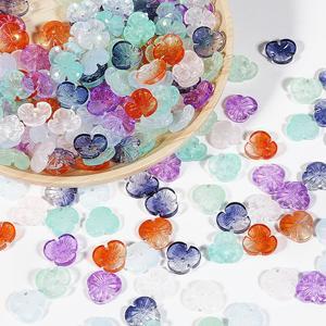 10 шт./партия 12 мм Цветок Bicone Австрийские хрустальные бусины очаровательные бусины Свободные разделительные бусины для DIY браслет для изготовления ювелирных изделий для волос