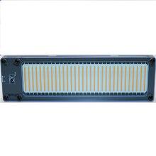 Link1 placa medidora de nível de controle de som,, medidor de áudio stereo, placa agc para mp3, alto falante, amplificadores, função de iluminação