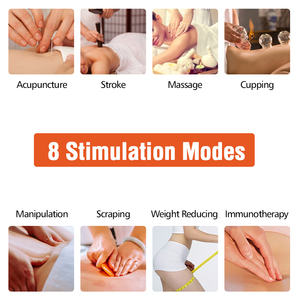 Image 2 - Tens EMS Muscle Full Body Massager Electric Digital Therapy Machine Massage Electronic Pulse Stimulator Body Relax Pain Relief