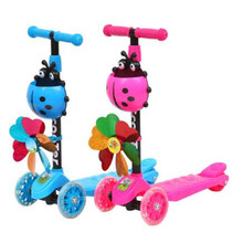 Children Bicycle Car Children's Scooter Balance Bike Ride On Toys Children's Ride For Scooter Tricycle Kids Kick Car