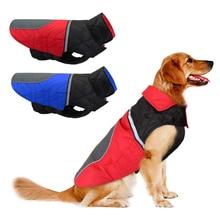 Ropa reflectante para perros invierno abrigo para perro ropa impermeable para mascotas ropa chaleco para perros de tamaño mediano Bulldog francés Pitbull
