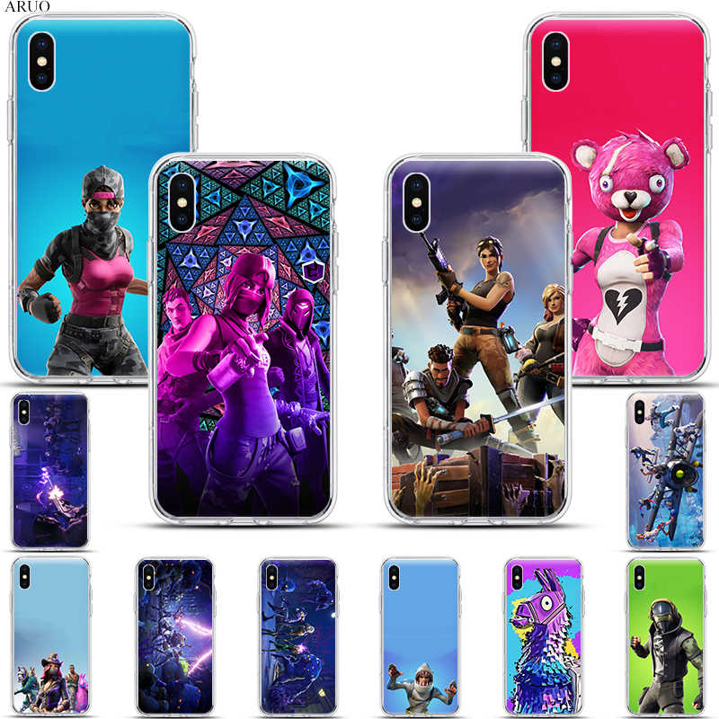 Custodia morbida in Silicone per iphone 11 11Pro XS Max X XR XS 7 8 6s Plus 5 se